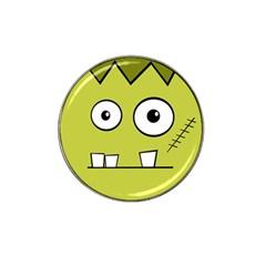 Halloween Frankenstein -Yellow Hat Clip Ball Marker
