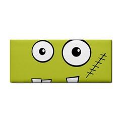 Halloween Frankenstein -Yellow Hand Towel