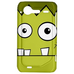 Halloween Frankenstein -Yellow HTC Incredible S Hardshell Case