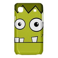 Halloween Frankenstein -Yellow Samsung Galaxy SL i9003 Hardshell Case