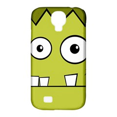 Halloween Frankenstein -Yellow Samsung Galaxy S4 Classic Hardshell Case (PC+Silicone)