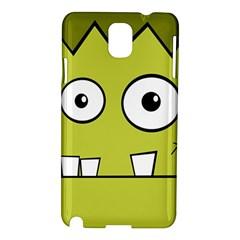 Halloween Frankenstein -Yellow Samsung Galaxy Note 3 N9005 Hardshell Case