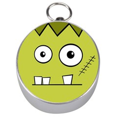Halloween Frankenstein -Yellow Silver Compasses