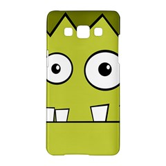 Halloween Frankenstein -Yellow Samsung Galaxy A5 Hardshell Case