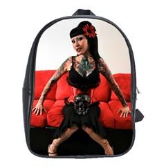 Tattoo Pin Up 2010 School Bags (XL)