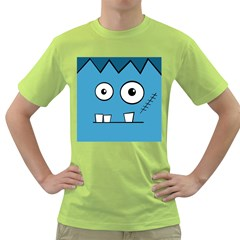 Halloween Frankenstein - Blue Green T-Shirt
