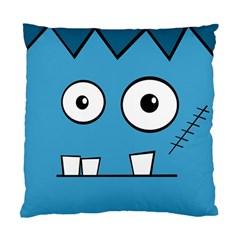 Halloween Frankenstein - Blue Standard Cushion Case (Two Sides)