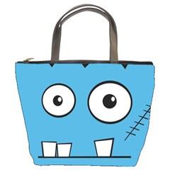 Halloween Frankenstein - Blue Bucket Bags