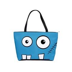 Halloween Frankenstein - Blue Shoulder Handbags