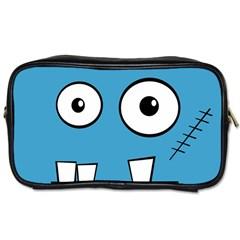 Halloween Frankenstein - Blue Toiletries Bags