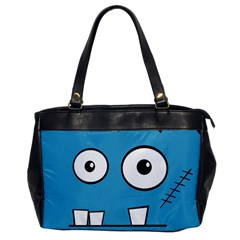 Halloween Frankenstein - Blue Office Handbags