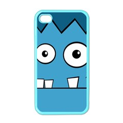 Halloween Frankenstein - Blue Apple iPhone 4 Case (Color)