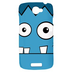 Halloween Frankenstein - Blue HTC One S Hardshell Case