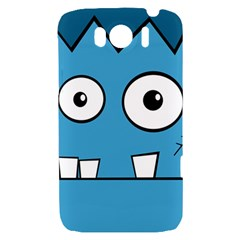 Halloween Frankenstein - Blue HTC Sensation XL Hardshell Case