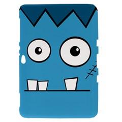 Halloween Frankenstein - Blue Samsung Galaxy Tab 8.9  P7300 Hardshell Case