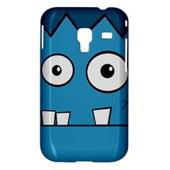 Halloween Frankenstein - Blue Samsung Galaxy Ace Plus S7500 Hardshell Case