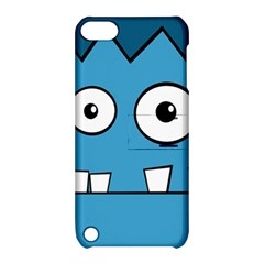 Halloween Frankenstein - Blue Apple iPod Touch 5 Hardshell Case with Stand