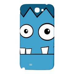 Halloween Frankenstein - Blue Samsung Note 2 N7100 Hardshell Back Case