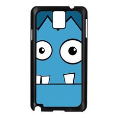 Halloween Frankenstein - Blue Samsung Galaxy Note 3 N9005 Case (Black)