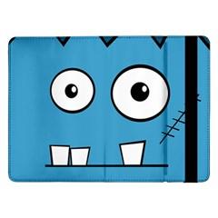 Halloween Frankenstein   Blue Samsung Galaxy Tab Pro 12 2  Flip Case