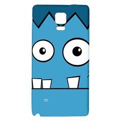 Halloween Frankenstein - Blue Galaxy Note 4 Back Case