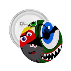 Halloween monsters 2.25  Buttons