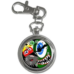 Halloween monsters Key Chain Watches