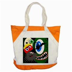 Halloween monsters Accent Tote Bag