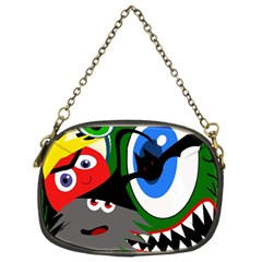 Halloween monsters Chain Purses (Two Sides)