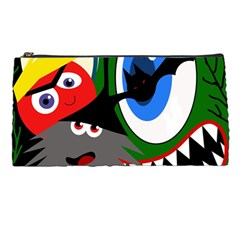 Halloween monsters Pencil Cases