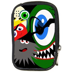 Halloween monsters Compact Camera Cases
