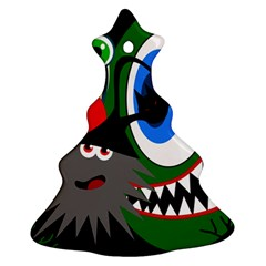 Halloween monsters Christmas Tree Ornament (2 Sides)