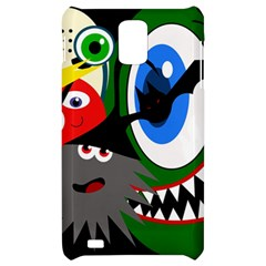 Halloween monsters Samsung Infuse 4G Hardshell Case