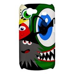 Halloween monsters Samsung Galaxy Nexus S i9020 Hardshell Case