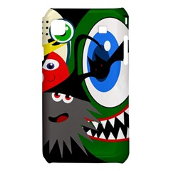 Halloween monsters Samsung Galaxy S i9008 Hardshell Case