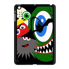 Halloween monsters Apple iPad Mini Case (Black)