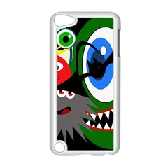 Halloween monsters Apple iPod Touch 5 Case (White)