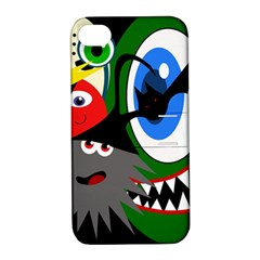 Halloween monsters Apple iPhone 4/4S Hardshell Case with Stand