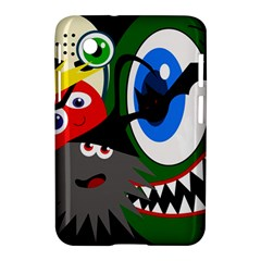 Halloween monsters Samsung Galaxy Tab 2 (7 ) P3100 Hardshell Case