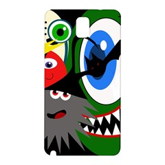 Halloween monsters Samsung Galaxy Note 3 N9005 Hardshell Back Case