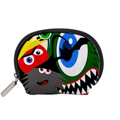 Halloween monsters Accessory Pouches (Small)