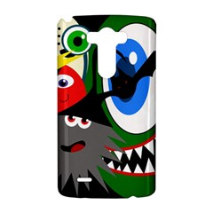 Halloween monsters LG G3 Hardshell Case