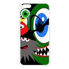 Halloween monsters Apple Seamless iPhone 6 Plus/6S Plus Case (Transparent)