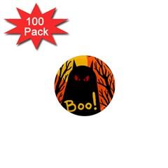 Halloween monster 1  Mini Magnets (100 pack)