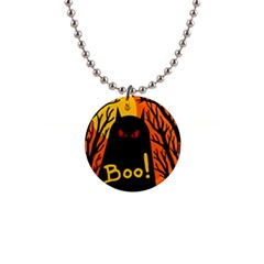 Halloween monster Button Necklaces