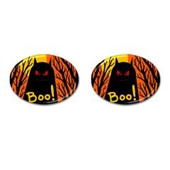 Halloween monster Cufflinks (Oval)