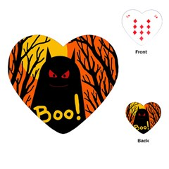 Halloween monster Playing Cards (Heart)