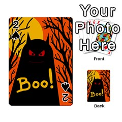 Halloween monster Playing Cards 54 Designs