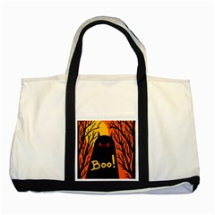 Halloween monster Two Tone Tote Bag