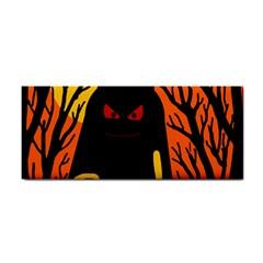 Halloween monster Hand Towel